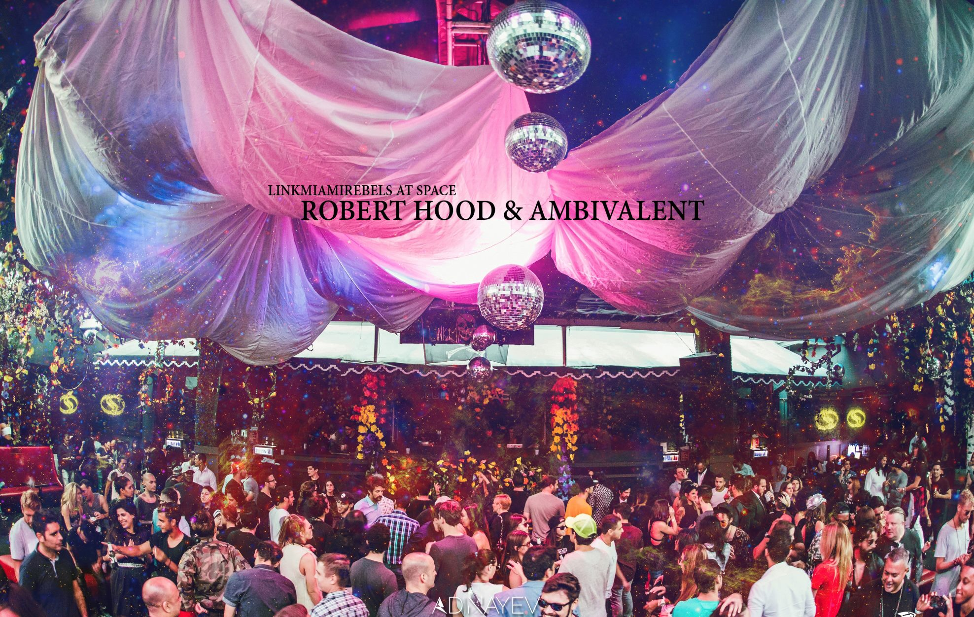 Robert Hood & Ambivalent / April 22