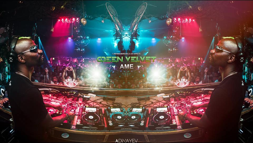 Green Velvet + AME / August 4