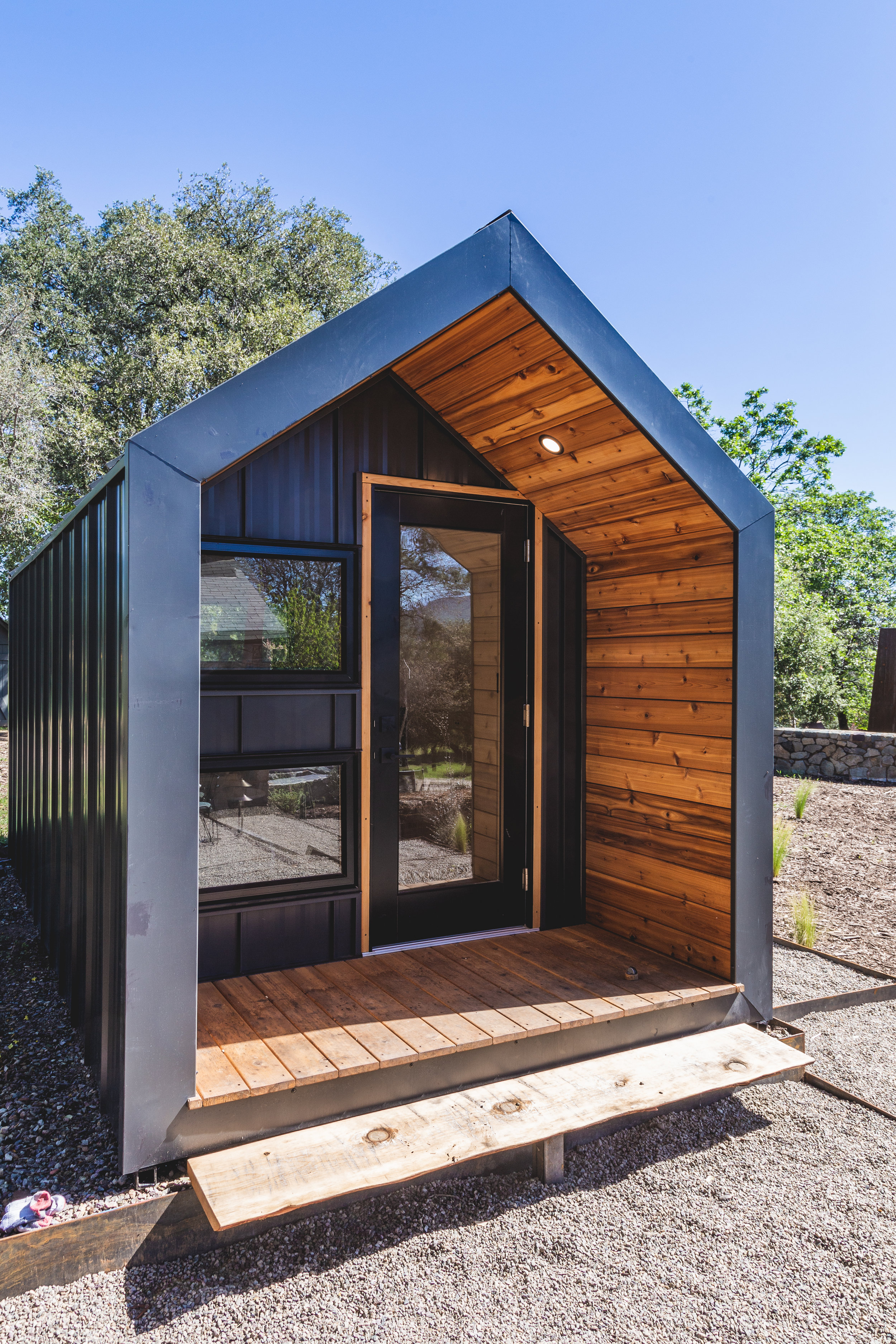 """""""[DROP Structures] have done a nice job all around and we're looking forward to many years of our daughter enjoying her studio"""" - – Brian Snow"""