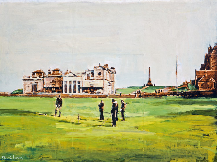 The Old Course<br>St Andrews, Scotland