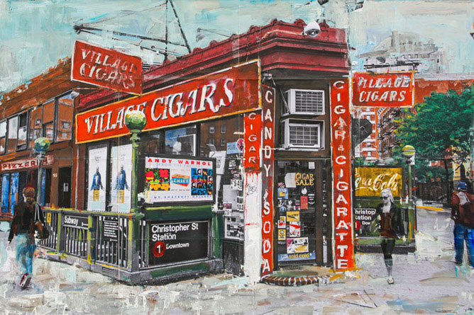 Village Cigars<br>New York City