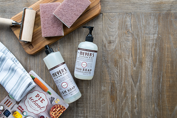 Click on image above to get Mrs. Meyer's hand soap & $10 credit!  This is an affiliate link. If you click on this ad and buy something, I make a commission at no cost to you.