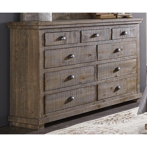 Again, with big ticket furniture items like dressers, beds and rugs, I recommend neutrals if on the fence if you love color in space. You can always add color in a vase or flowers on top of the dresser. Photo courtesy of Overstock.com
