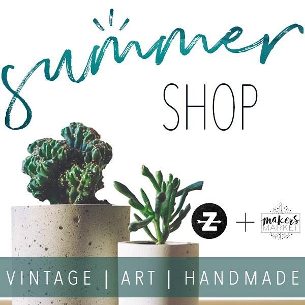 I am excited to announce that my work will be included in the Summer Shop located in Historic Oakwood! Grand opening is May 13th!