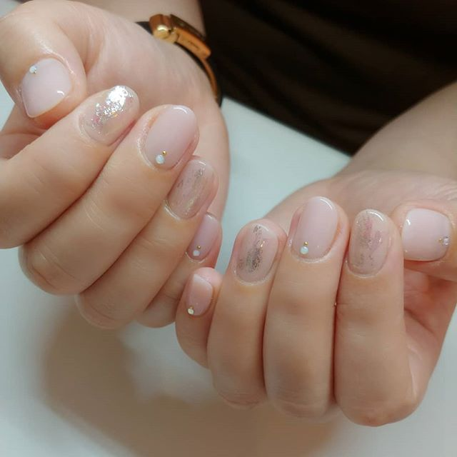 Perfect nail design for #OLさん 💕#表参道 #ネイル #nails #tokyo #omotesando #japanesenails 🎐