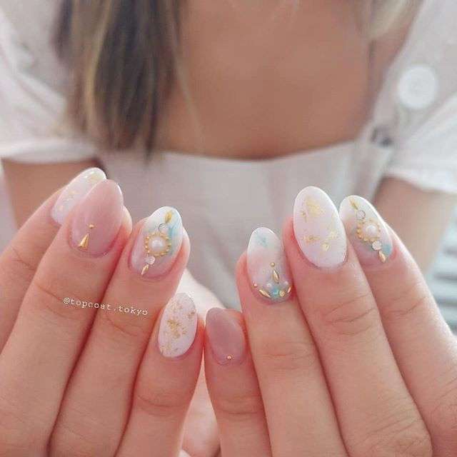 かわいい#ネイル ❤#summernails #naildesigns #nailsaddict