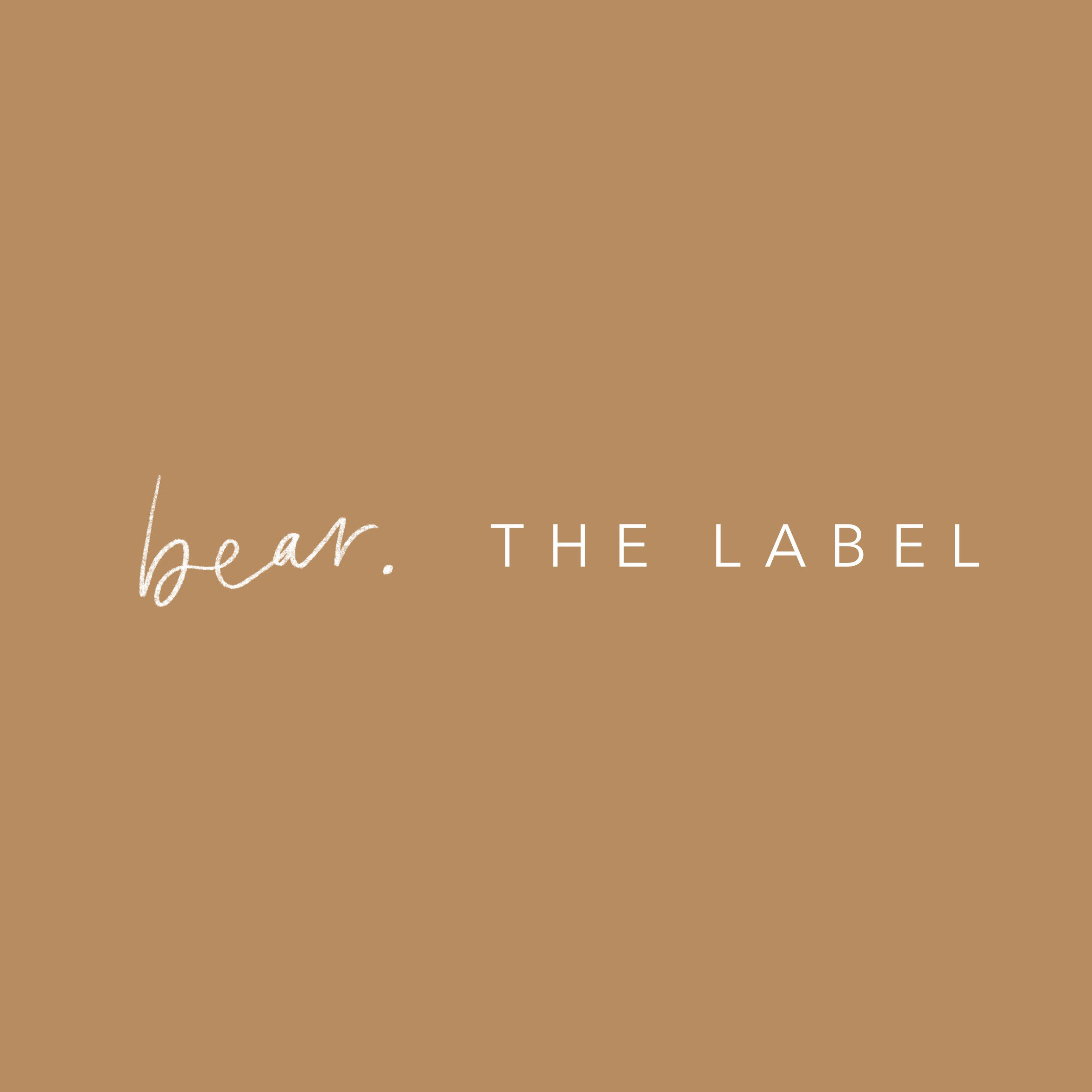 Branding - bear. the label