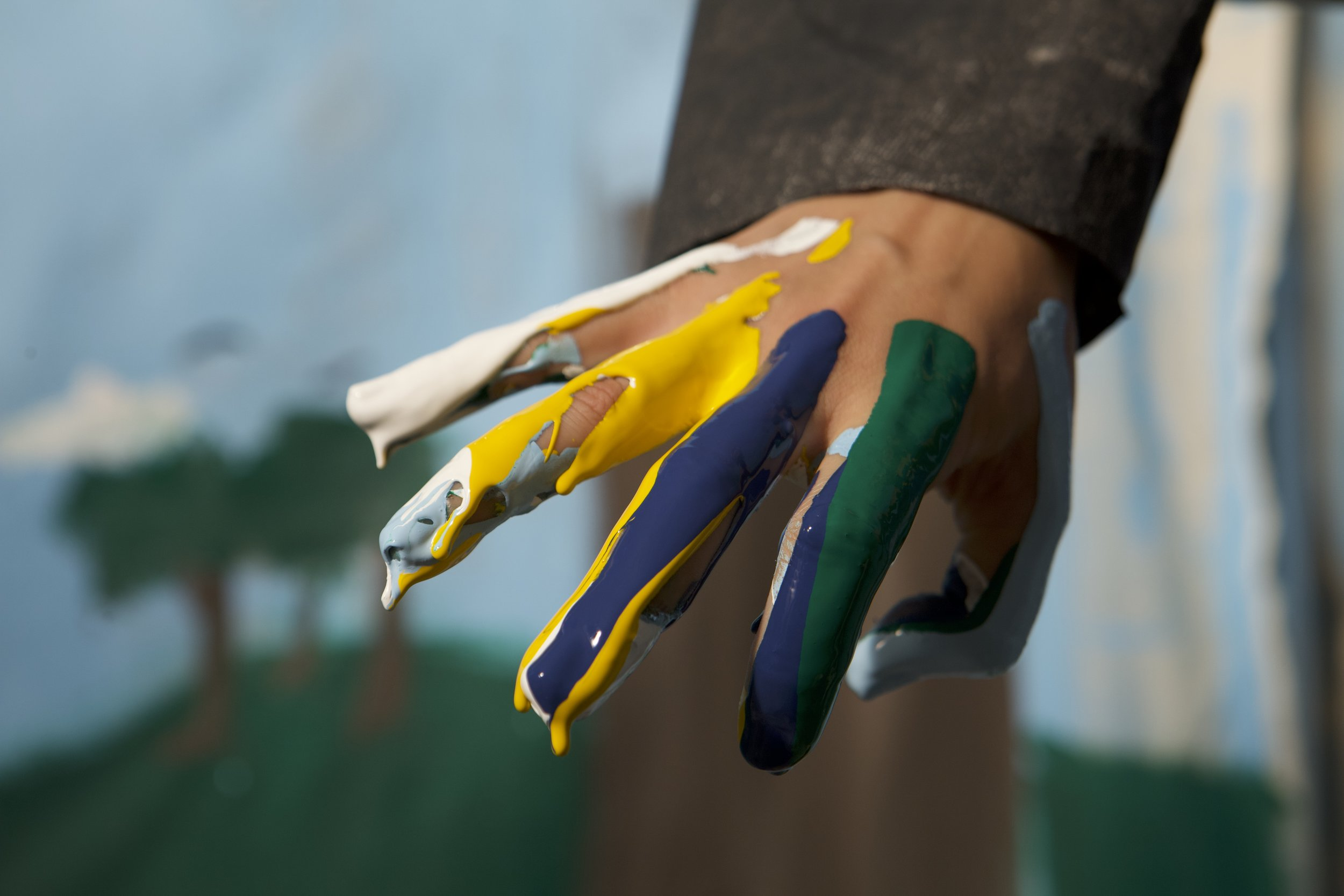 99CentTuxedo_Painted Hand.jpg