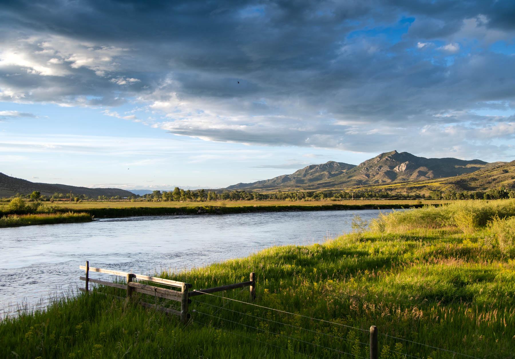 Summer Fishing Montana - alpen reel