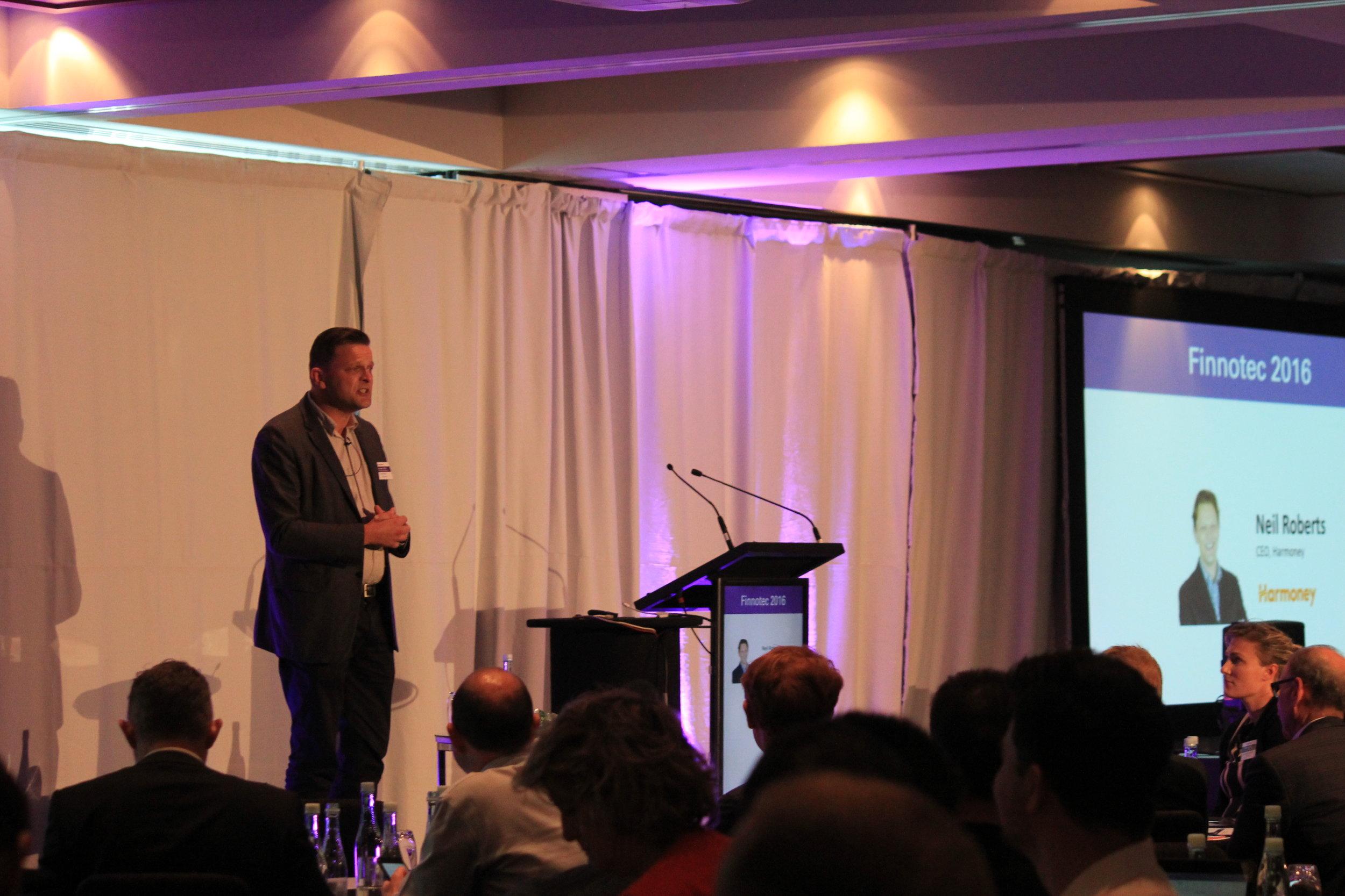 Neil Roberts, Co-Founder, Harmoney