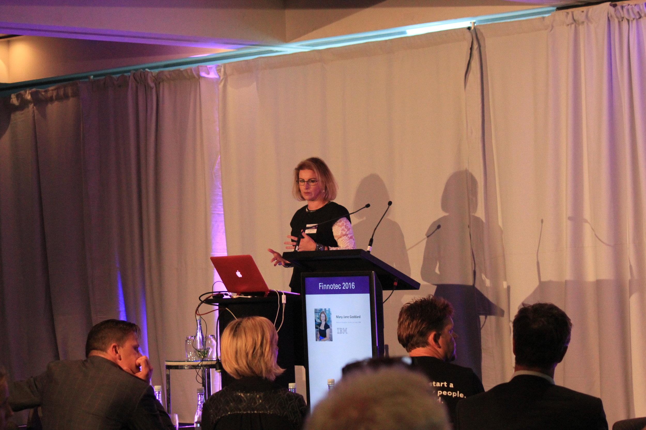 Mary-Jane Goddard,Technical Lead, IBM
