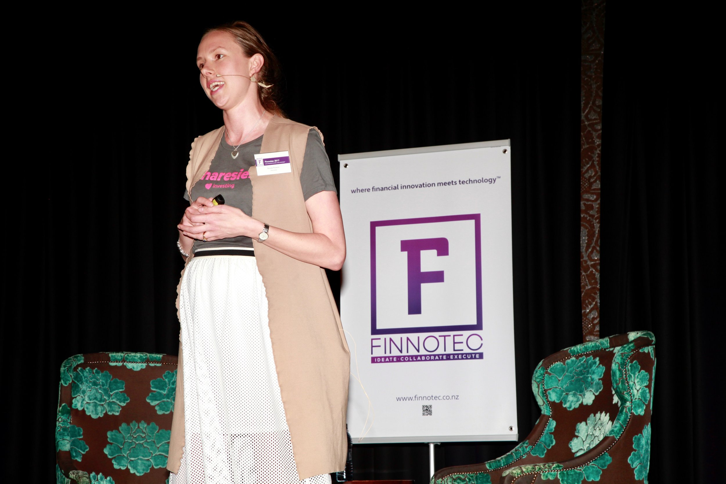 Brooke Anderson, Co-founder, Sharesies