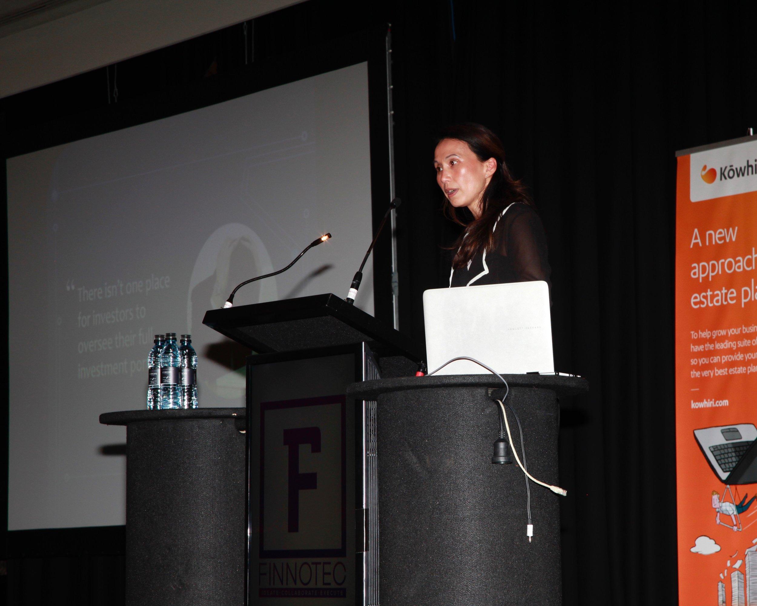 Leeanna Kohn-Hardy, Founder, Finappster