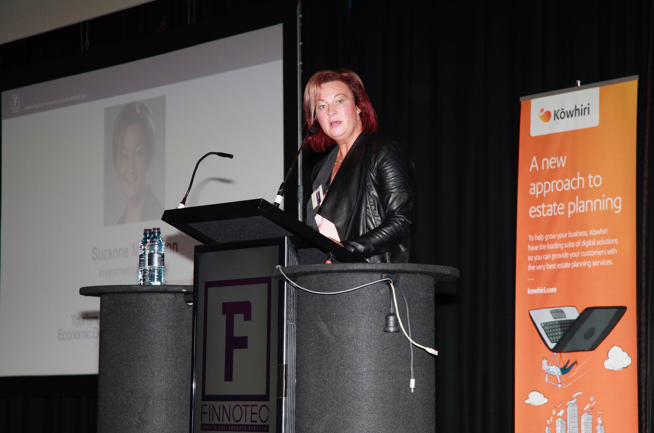 Suzanne McKinnon, Investment Director, ATEED