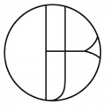 Artist monogram mark for Jessica Blaustein
