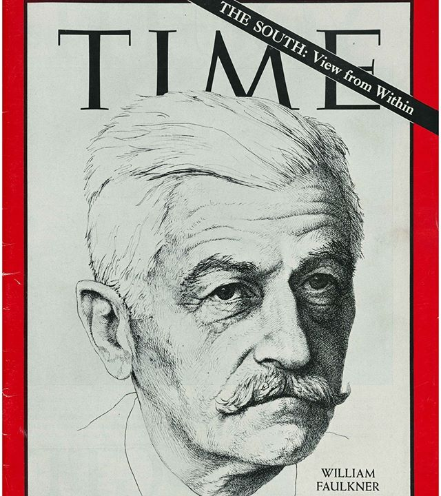 "William #Faulkner is known for describing the American #South like no other #writer. At the same time, he writes about #universal values and emotions like ""courage and honor and hope and pride and compassion and pity and sacrifice."" What do we make of this? Should Faulkner be considered a regional writer? -- Photo from the William Faulkner collections, Albert and Shirley Small Special Collections Library, University of Virginia"