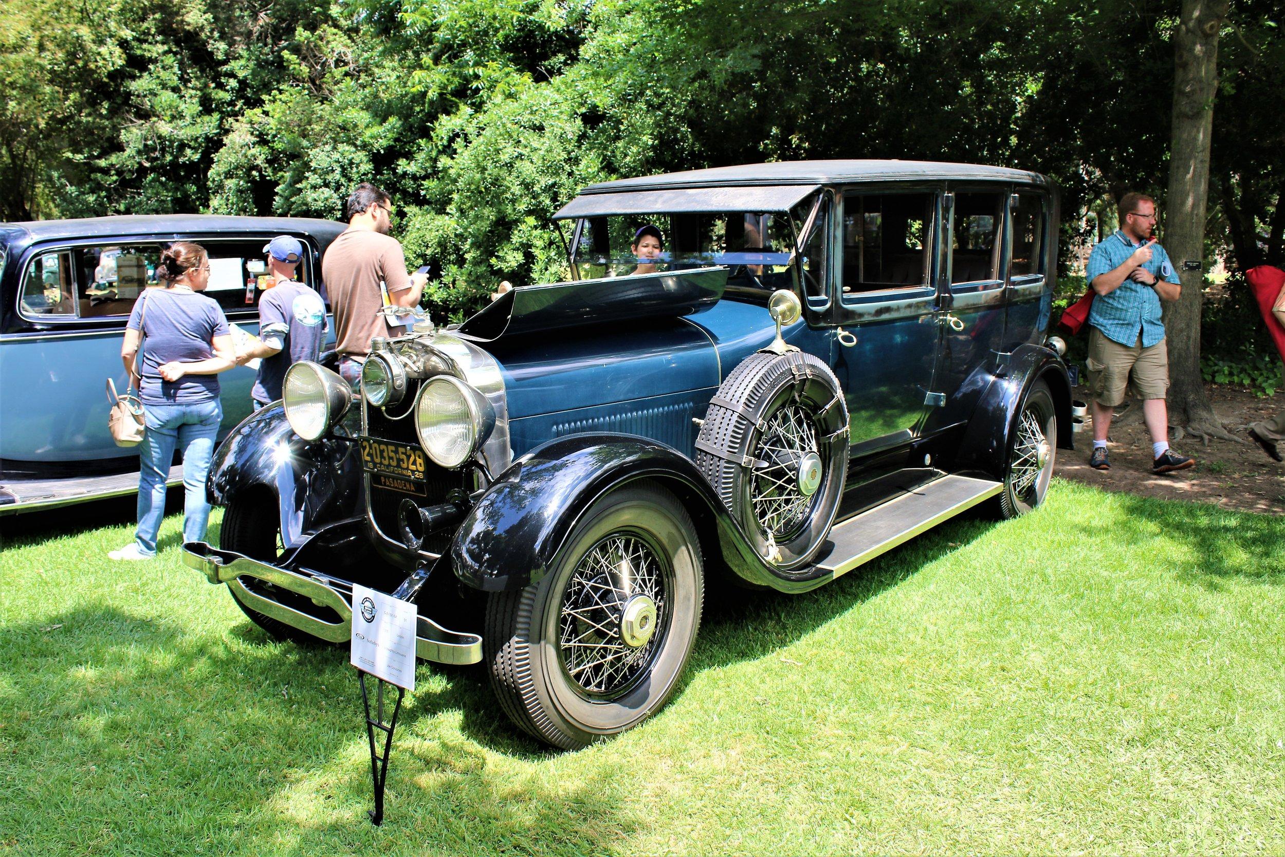 1928 Lincoln L Limousine, Willoughby Joseph Corzonire.JPG