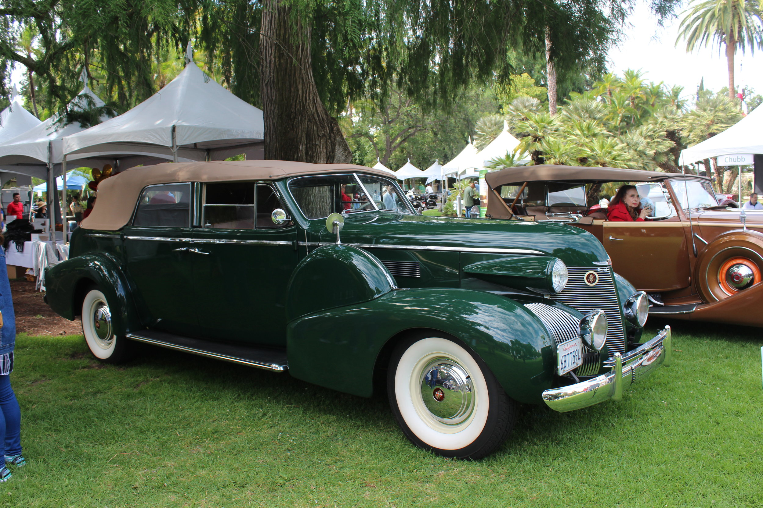 1939 Cadillac 75 Convertible Sedan, Fleetwood Bill Kling.JPG