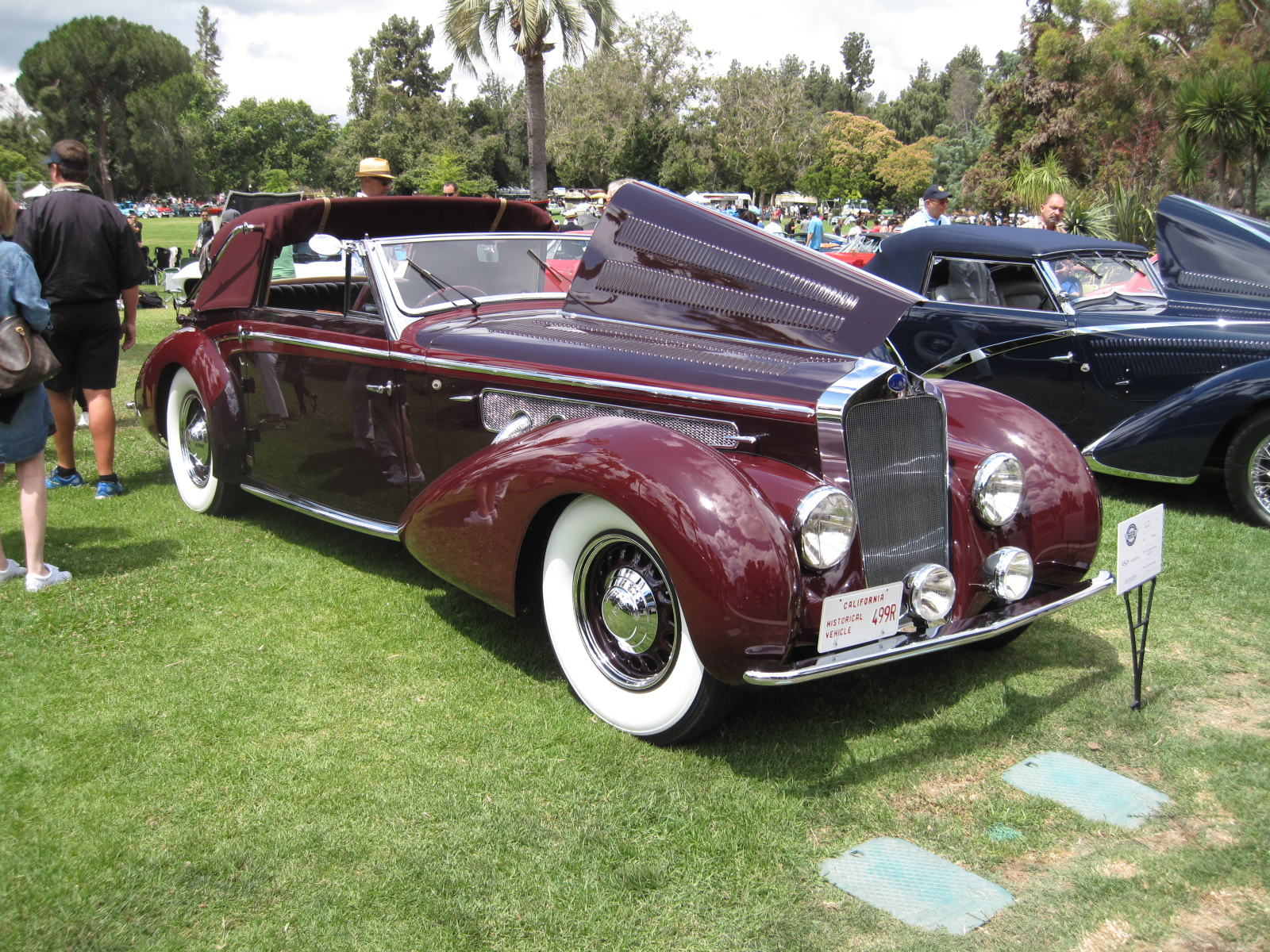 1939 Delage D8-120 Convertible Coupe, Chapron Peter Mullin.JPG