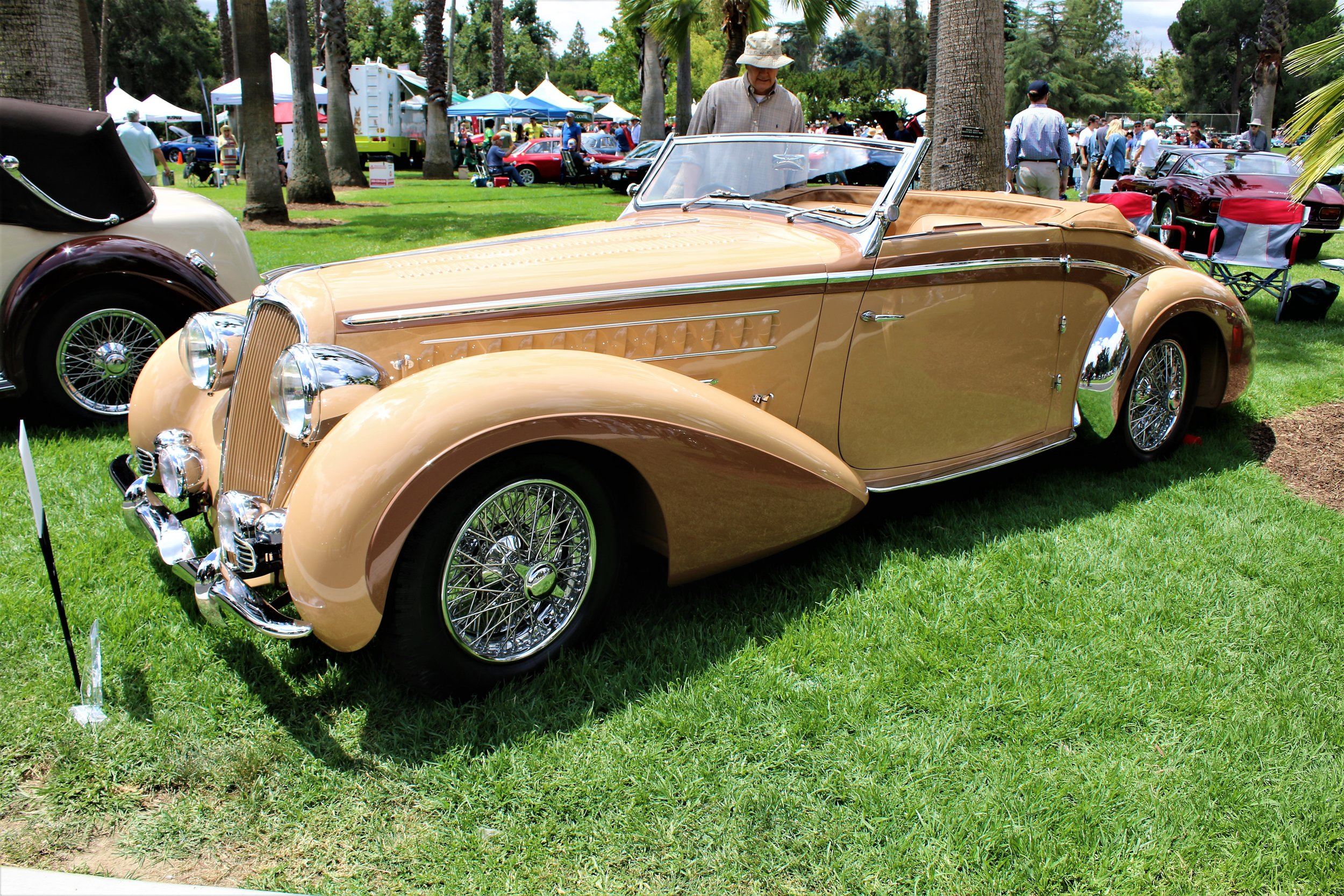 near end of article Best of Show 1938 Delahaye 135 Roadster, Chapron Rick Atwell.JPG
