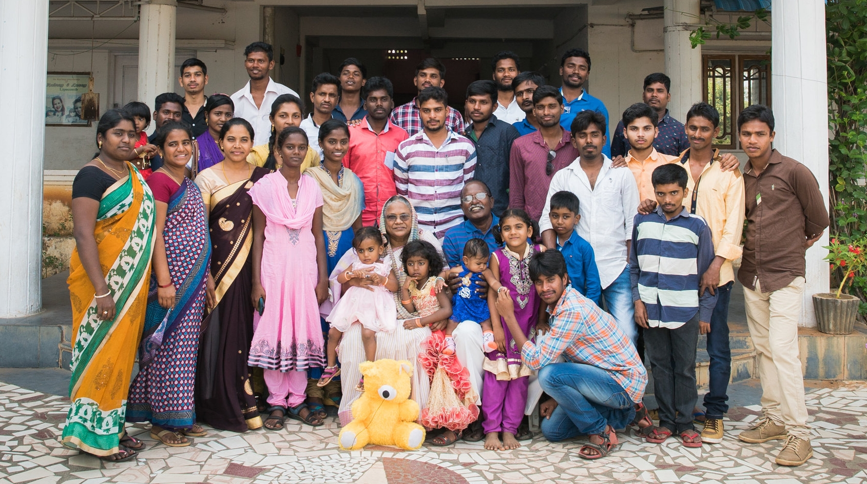 2017  - We host many now grown children who were residents of the children's home who share their stories with us, and offer their thanks and support.