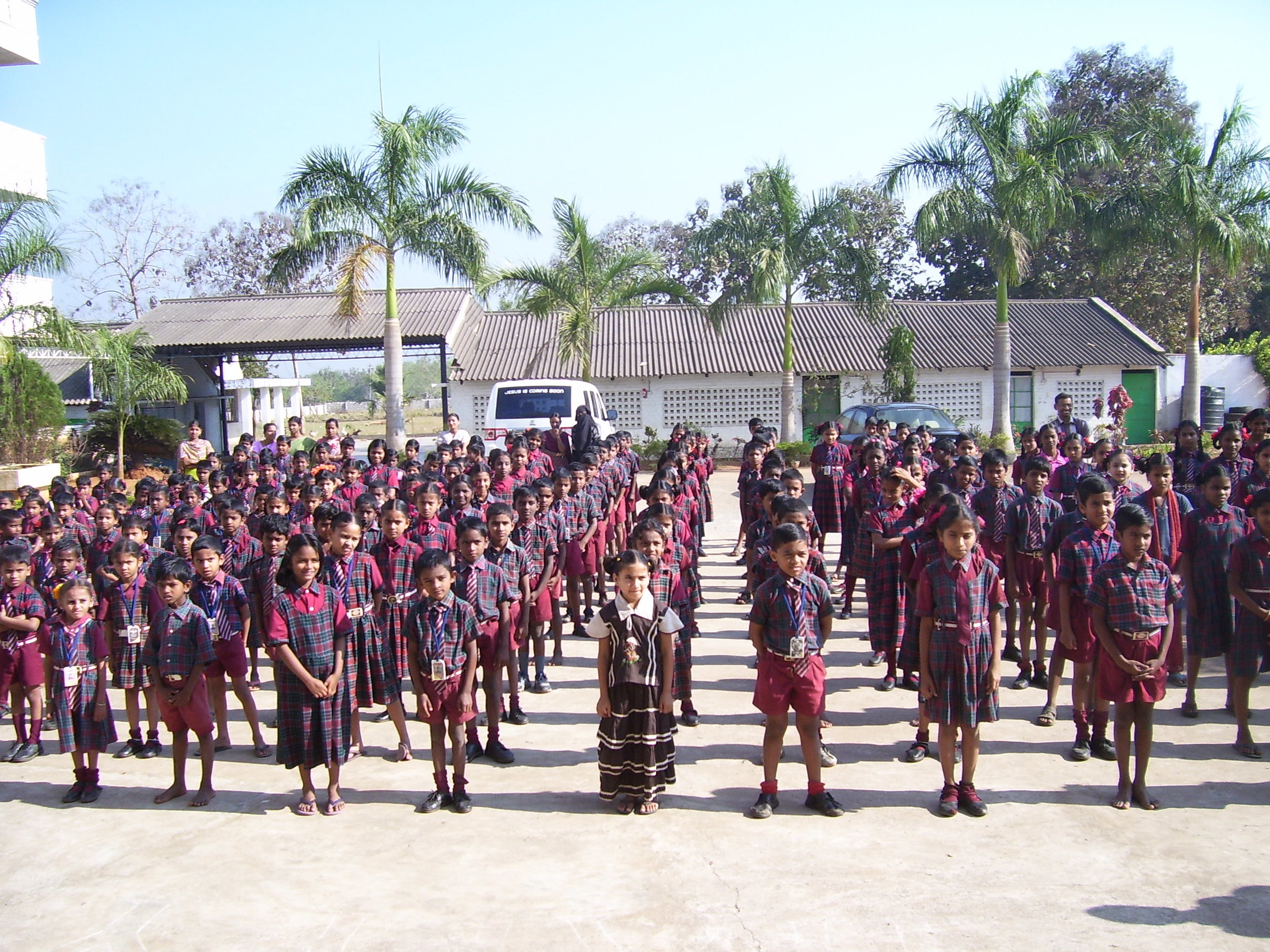 2001  - The first building is completed with space to house 75 children, as well as classroom space for an additional 200 local village children to attend school at the campus.