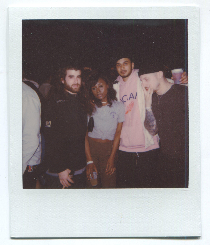Providence 2016 on NYE!, Drew, E, Abhi and Bret.