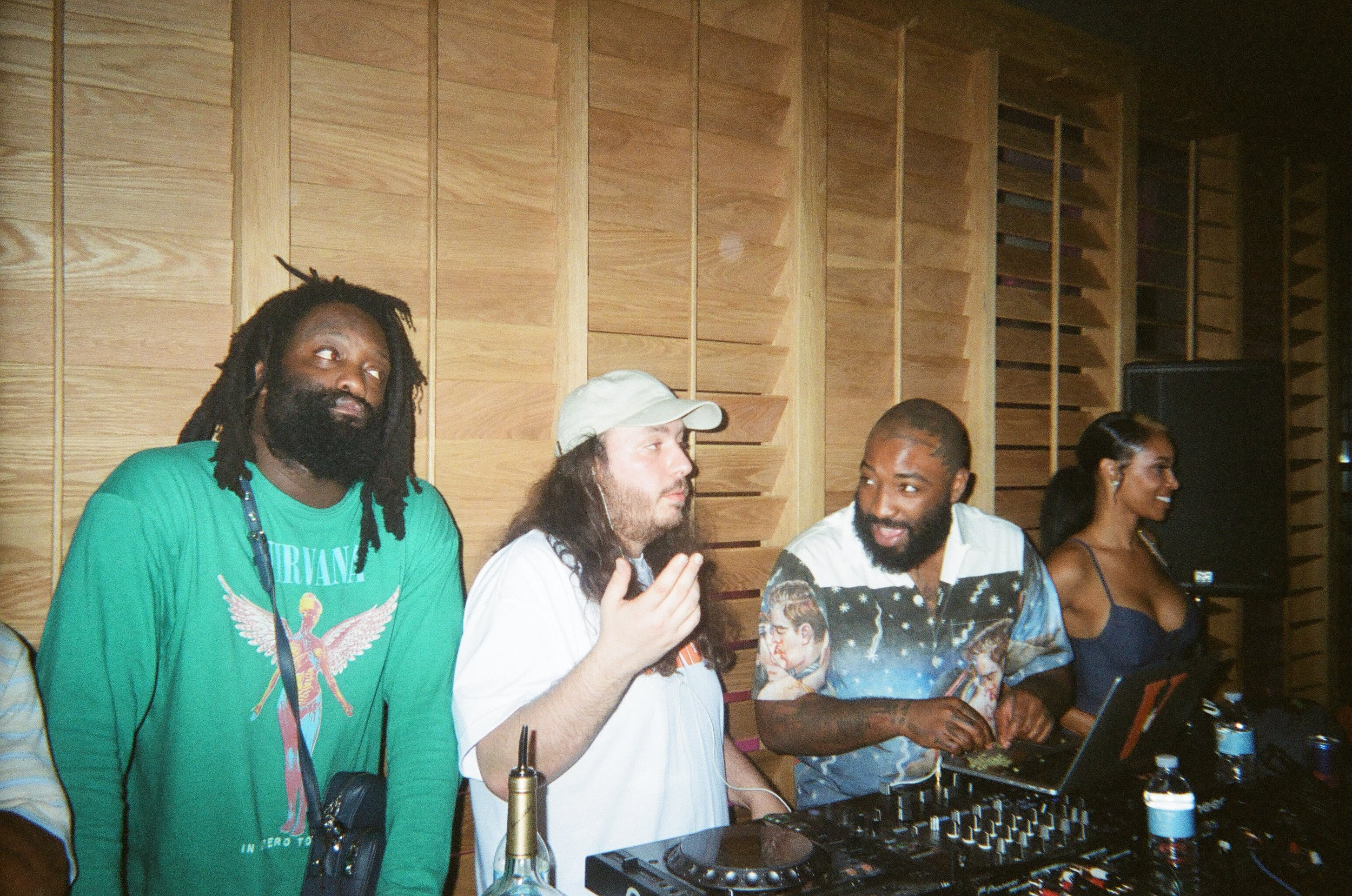 Miami (Art Basel 2016) Lou Mixing, Bari rolling.