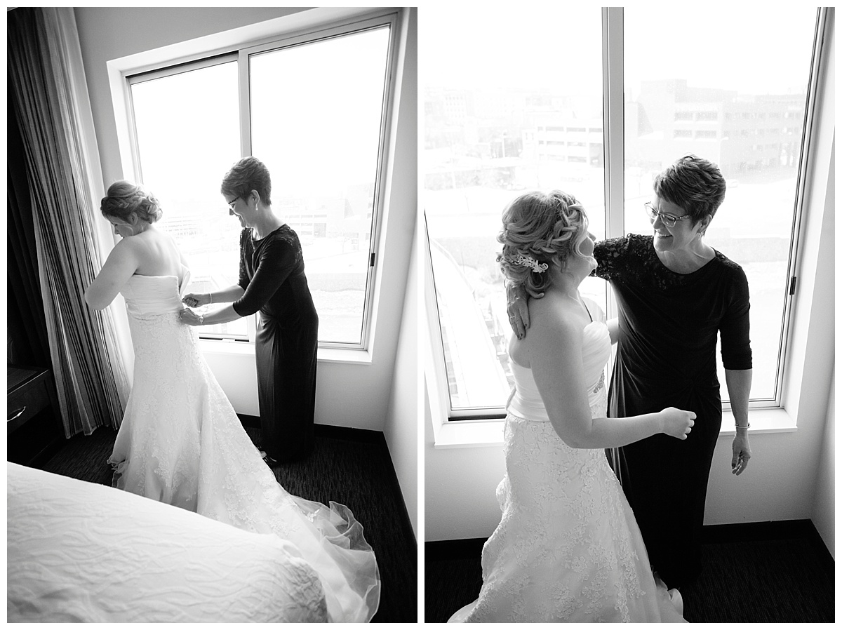 Downtown Sioux Falls Wedding Photographer | Bethany Melvin Photography