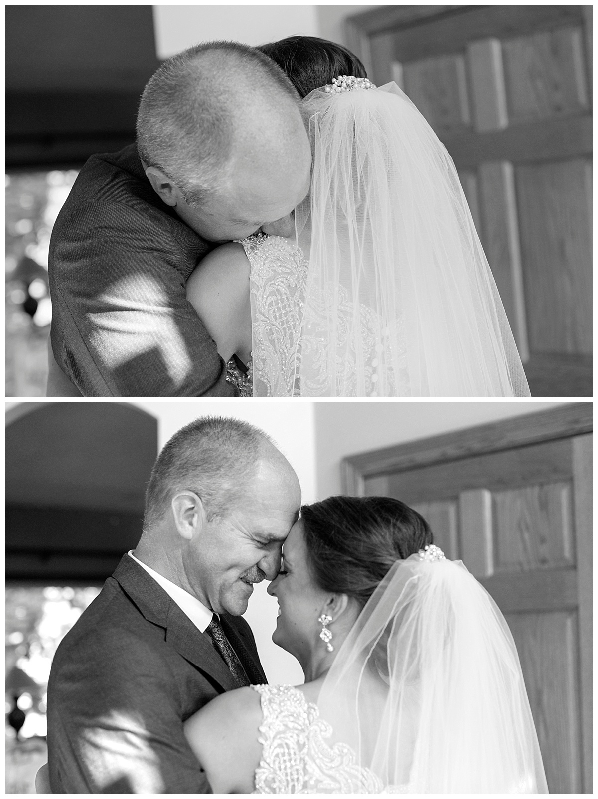 Father Daughter First Look | Minnesota Wedding Photographer | Bethany Melvin Photography