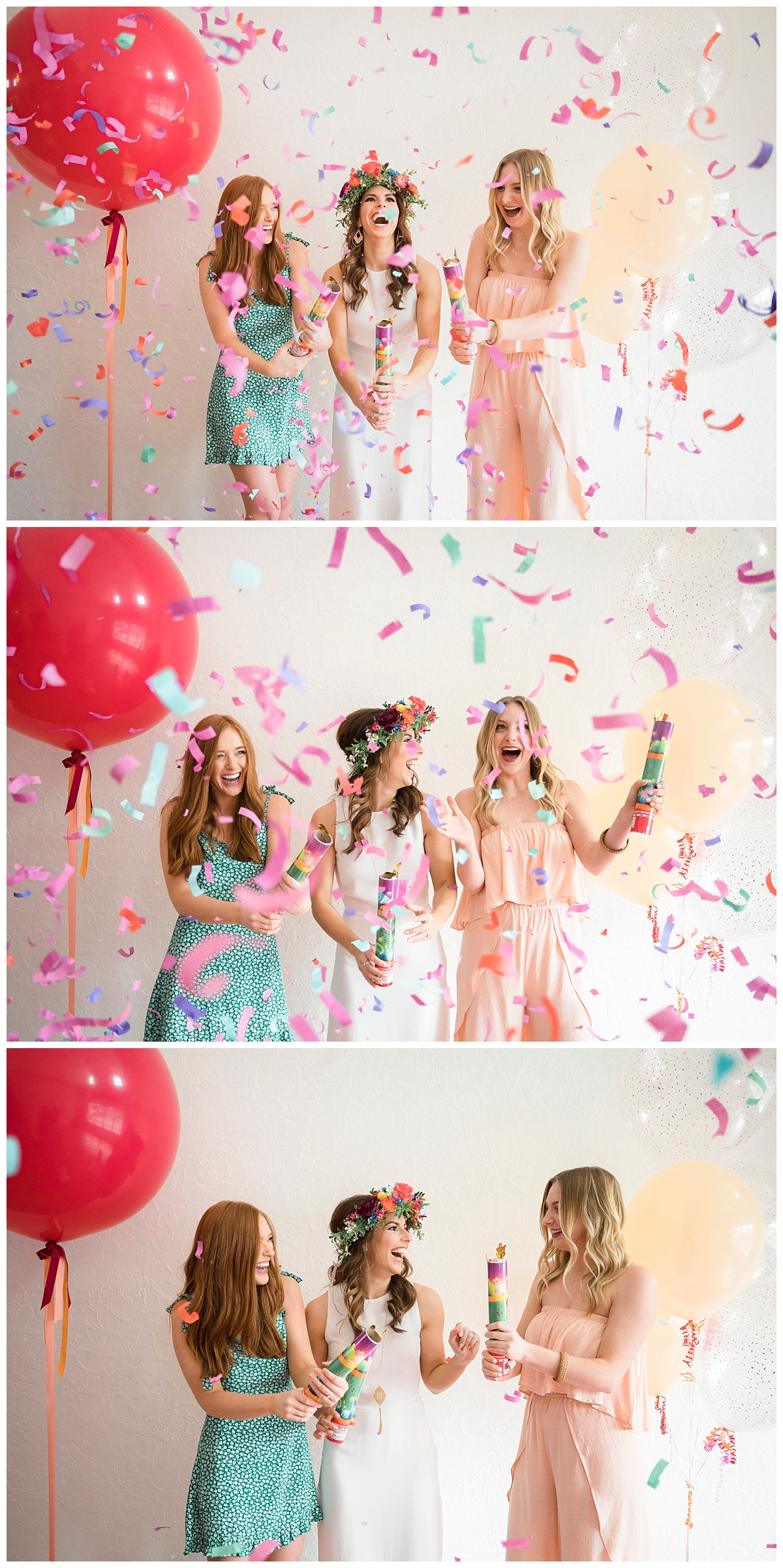 Sioux Falls Wedding Photography | Bethany Melvin Photography | Confetti Poppers Wedding