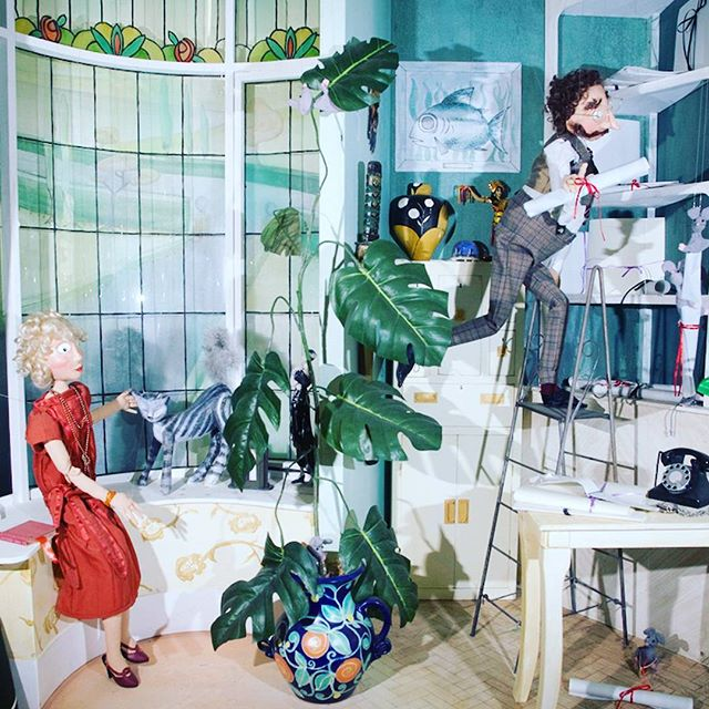 "Animated window adaption of ""Cinderella: An Art Deco Love Story"". Originally created for @smithandcaugheys and based on the story by Lynn Roberts and illustrations by David Roberts. #promotionsinmotionAU #stringanimation #animatedwindows #windowdressing #retailwindow #Cinderella #artdeco #oldschool #puppetry"