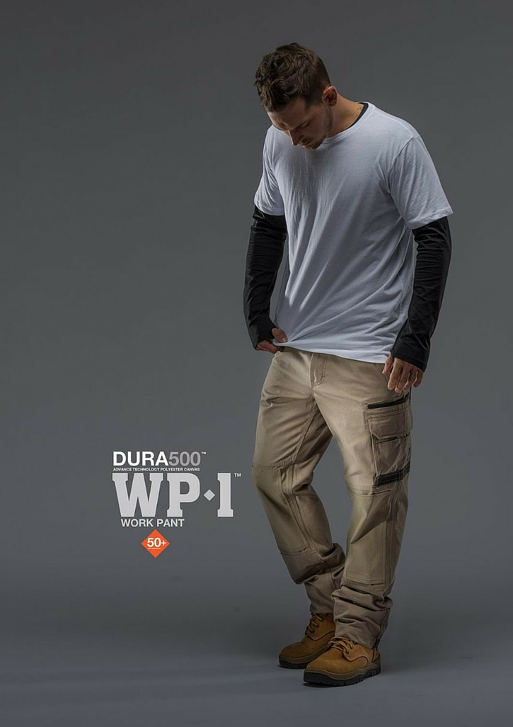 FXD WP-1 Work Pant   Features:  - FX01136001 - REGULAR FIT - 8.2oz/280gsm Pre-Shrunk 100% Cotton - DURATECH - REINFORCED POCKETS - STRETCH BACK YOKE AND KNEE PANELS - DURATECH REINFORCED HEELS - DOUBLE LAYER INTERNAL POCKET BAGS - DURATECH KNEE PAD POCKETS - MULTIPLE UTILITY POCKETS - YKK NYLON ZIP FLY - STRESS POINTS BAR-TACKS - TRIPLE NEEDLE STITCHING
