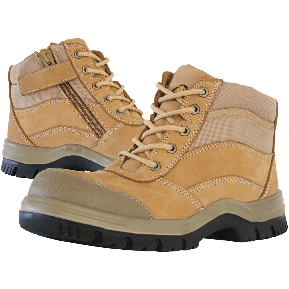 We have a range of  Bata Industrials  boots in-store including the Zippy Wheat model (pictured).