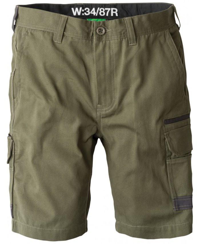 FXD Workwear WS-1 work shorts green