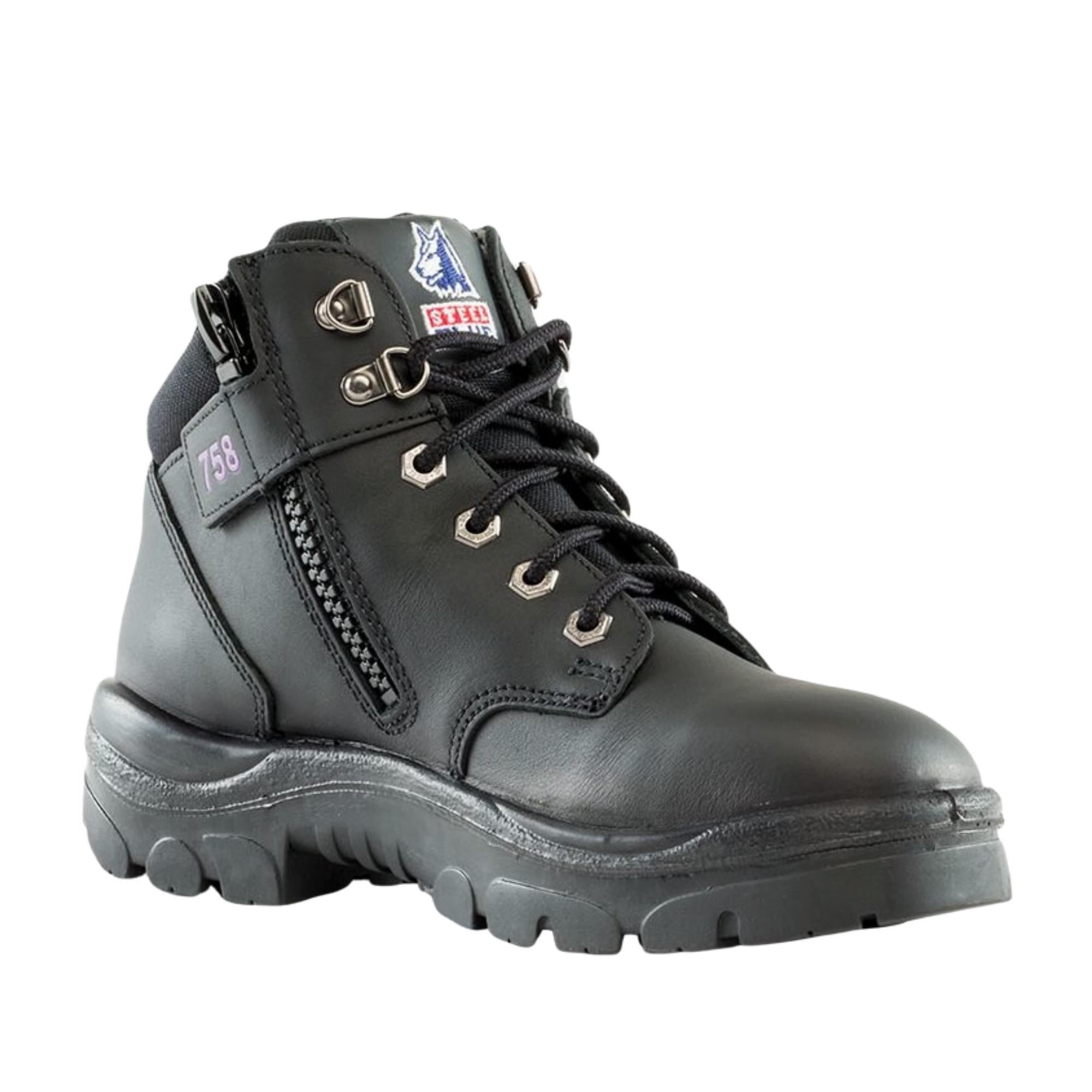 Steel Blue Parkes Zip Ladies work boots