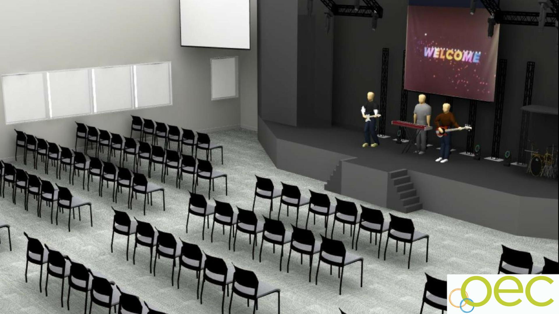 Auditorium/Multi-use space