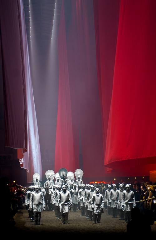 Bartabas at Nuit De Chine at Le Grand Palais 2014