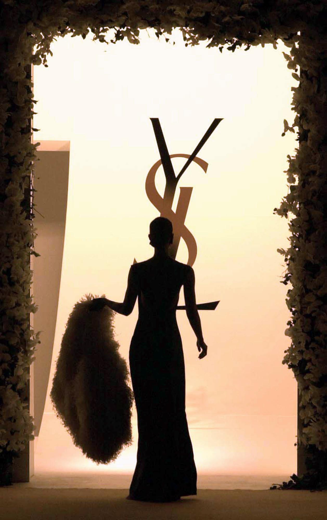 Yves Saint Laurent 40th Year Retrospective - Centre Pompidou January 22nd 2002