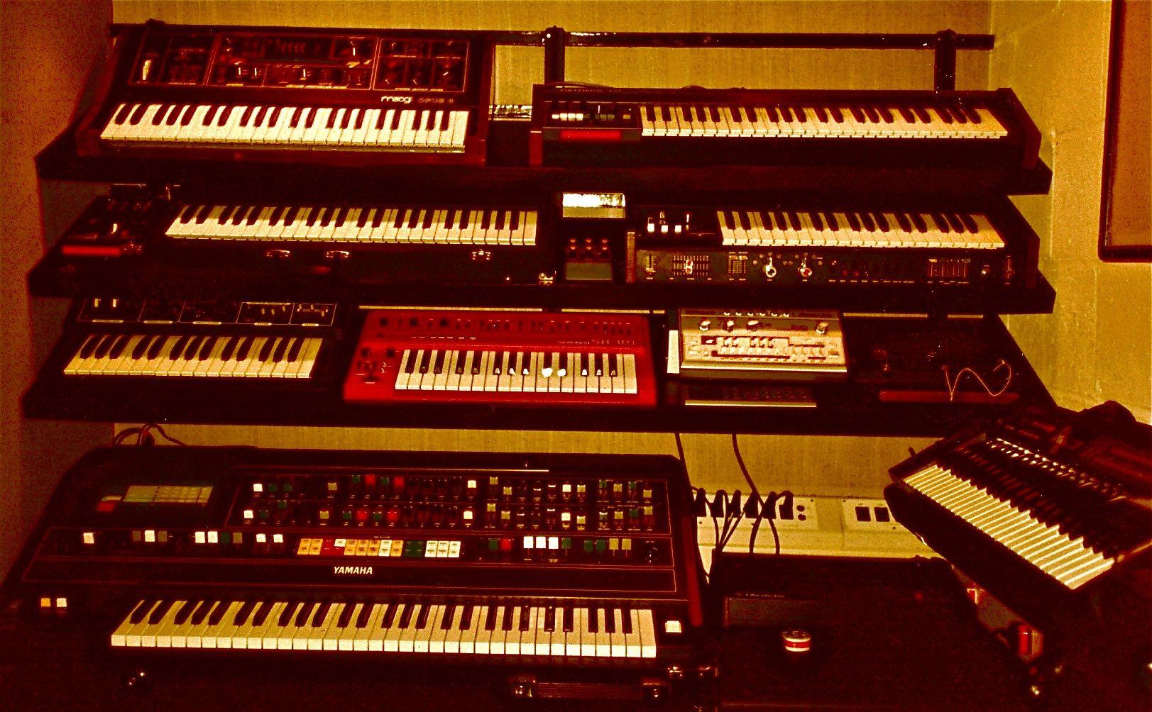 Bunk Jungk & Genius Studios, London - 1992