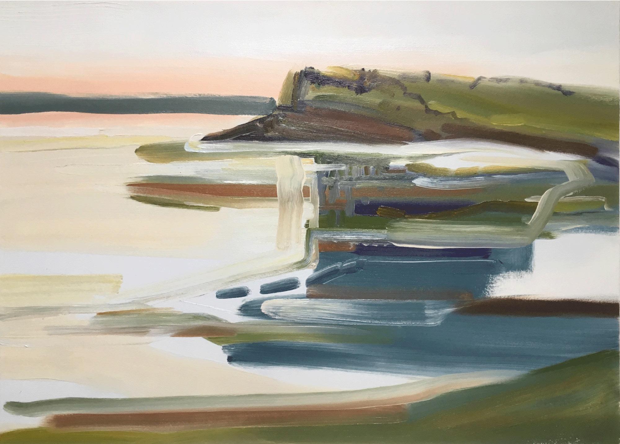 Copy of #7, a painting of the New Brunswick coast by Thomas Joseph