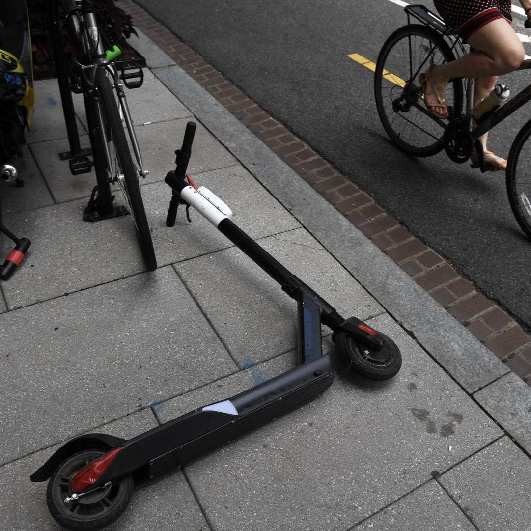 Scooter Hell: The Death of the Sidewalk. - Burnings, trashings, hangings- anti-scooter vigilantes appear ready to fight.