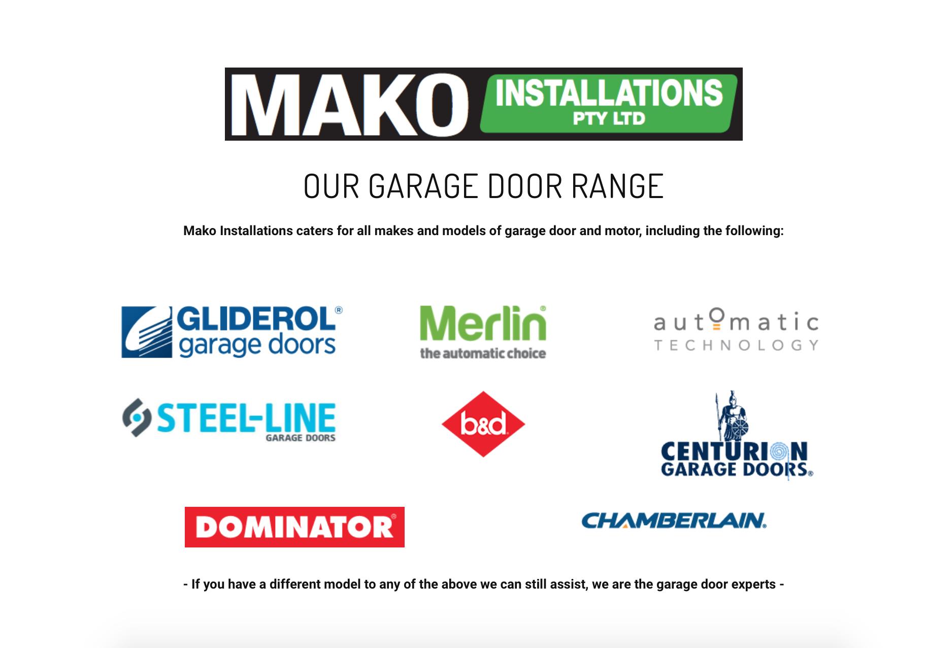 Mako-Installations-Garage-Doors-Tweed-Northern-Rivers-NSW-Gold-Coast-QLD-Byron-Lismore-door-models.png