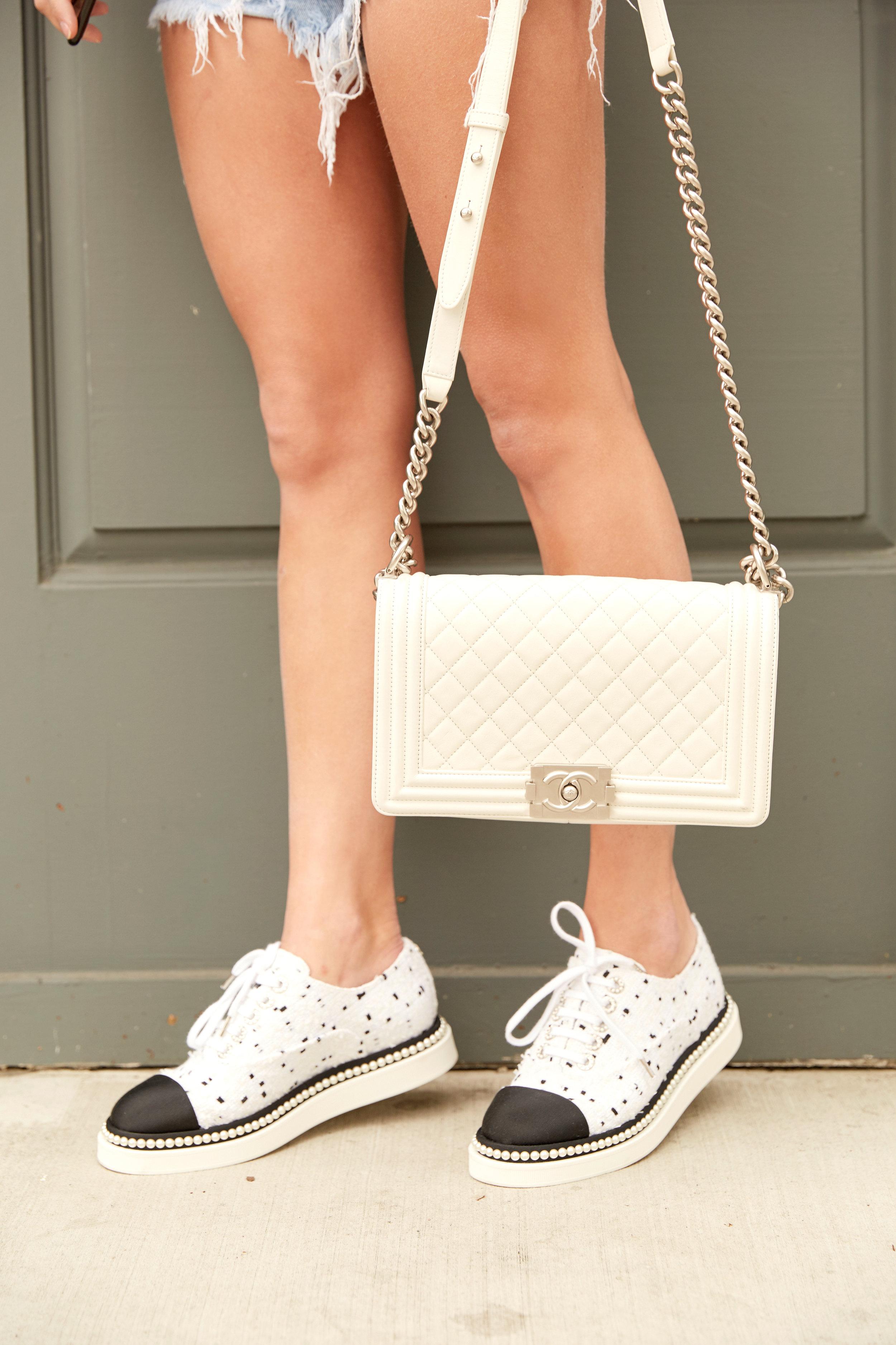 Purse & sneakers