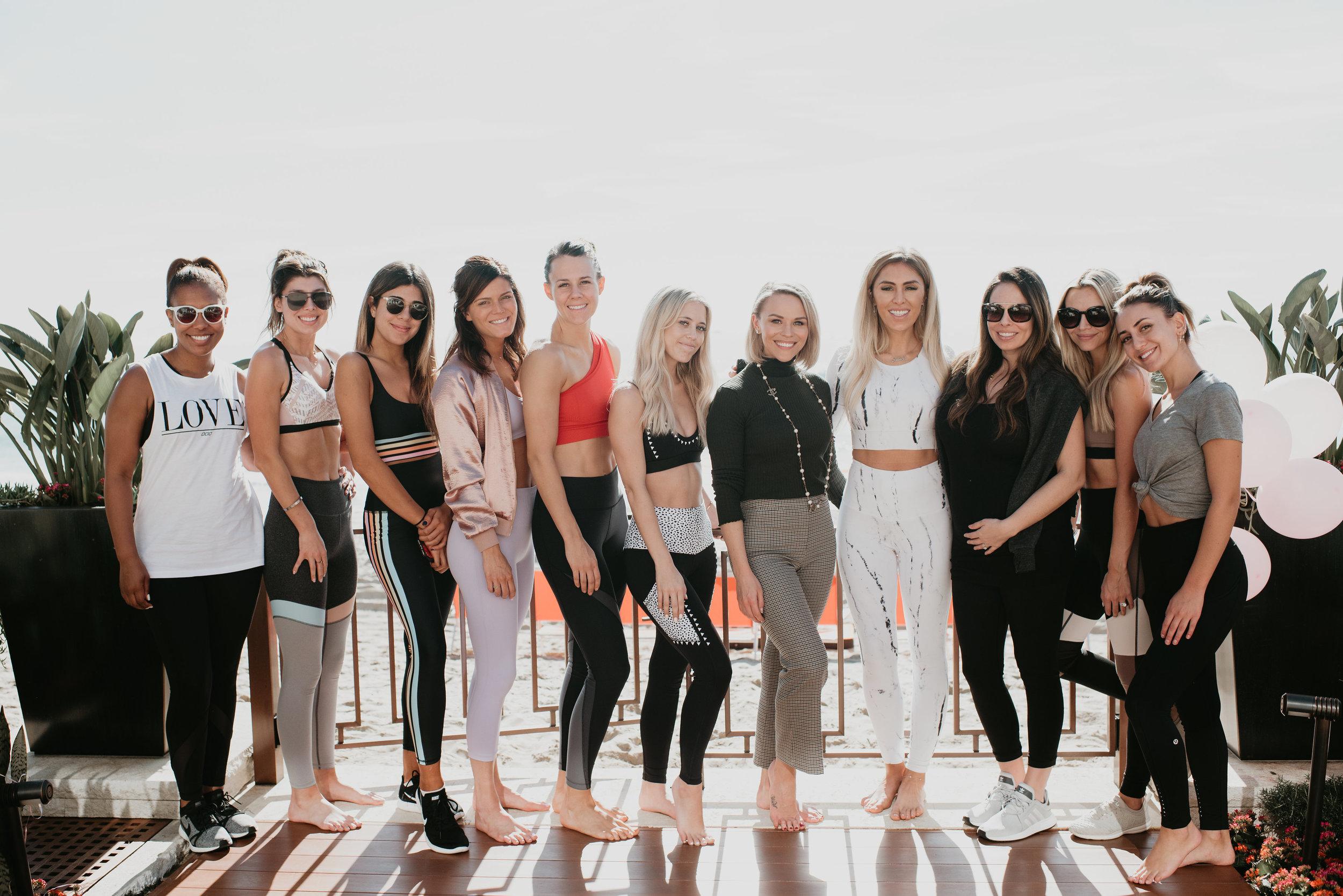 Group shot Laguna Beach