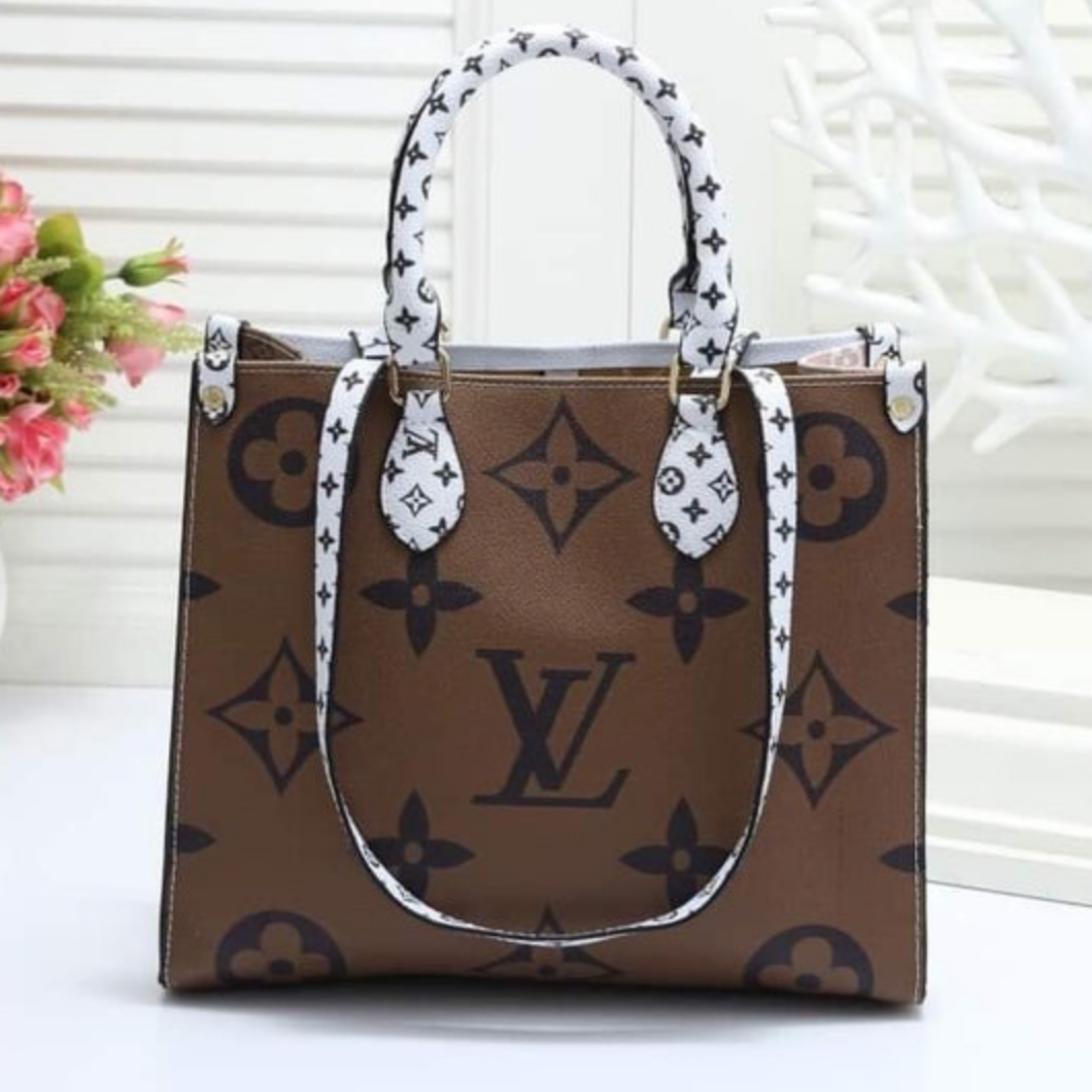 Louis Vuitton Inspired Bag:  UNDER $100