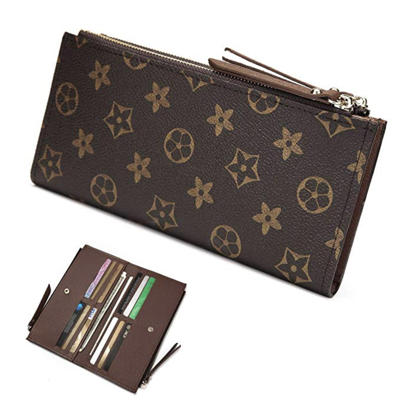 Louis Vuitton Inspired Wallet:  UNDER $20