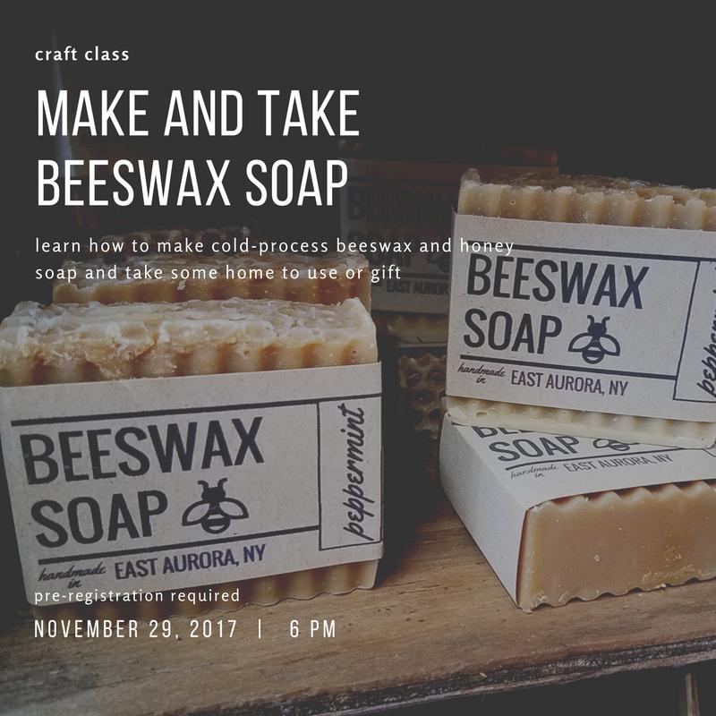 craft class soap