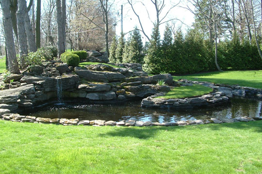 Water feature by innovative landscapes