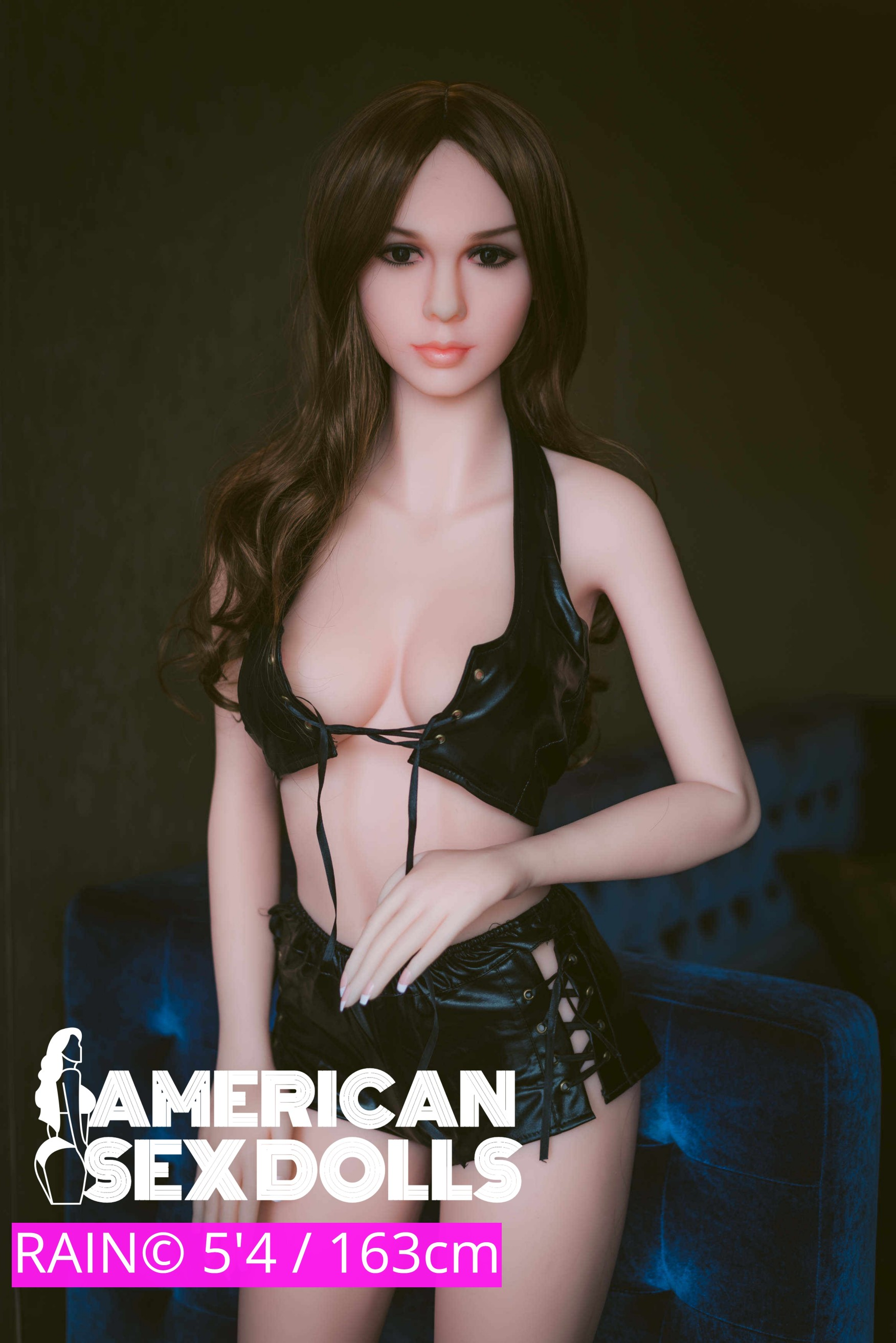 Amerikan Sex american sex dolls co. — rain (5'4) the goth girl